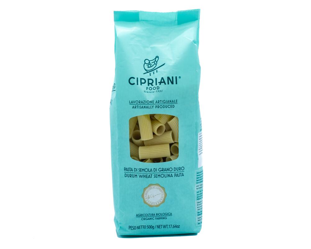 Op zoek naar heerlijke Cipriani biologische rigatoni pasta? Bestel deze heerlijke biologische pasta dan in onze webshop of kom naar Het Bouwhuis in Deventer.