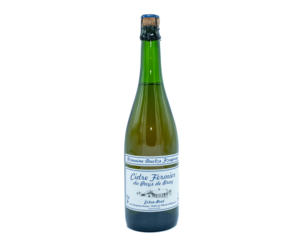 Domaine Duclos Fougeray extra brut Cider